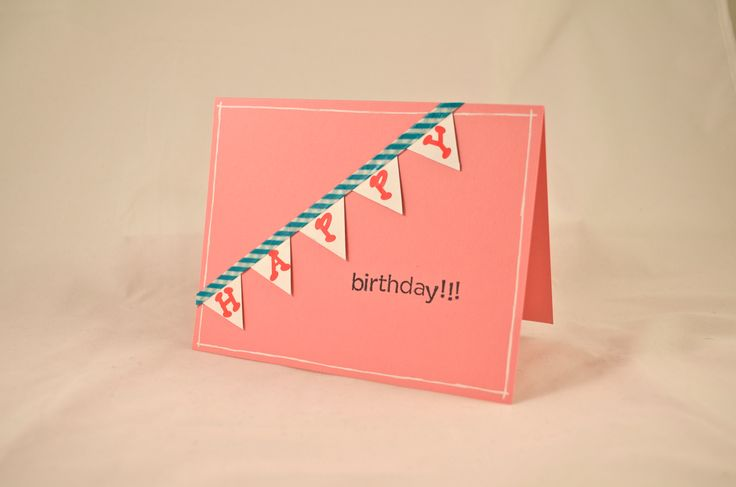 Washi Tape Challenge - Birthday Cards | Crafty | Pinterest