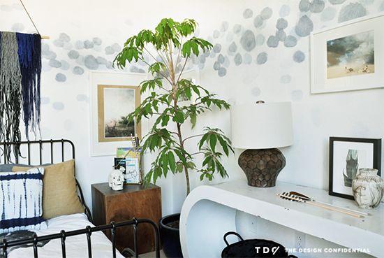 Blake's Boho Still Boyish Bedroom Reveal | The Design Confidential