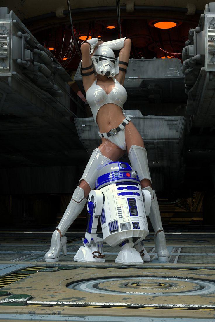 Stormtrooper helmet nude naked comic
