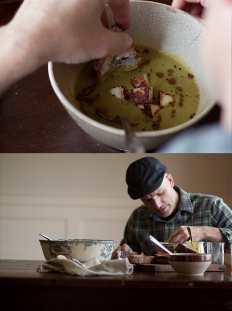 Green Lentil Soup with Curried Brown Butter | Recipe