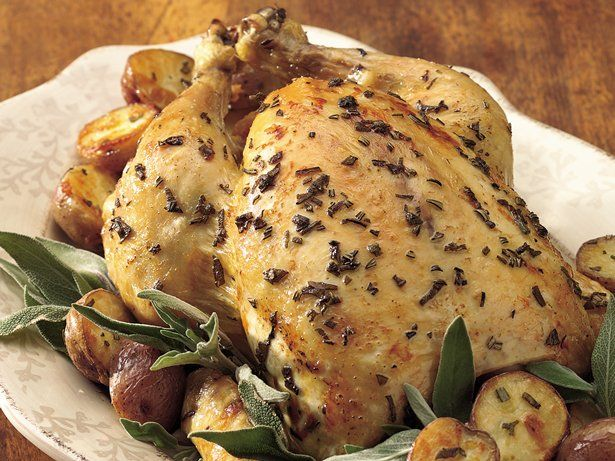 Oven-Roasted Chicken with New Potatoes | Recipe