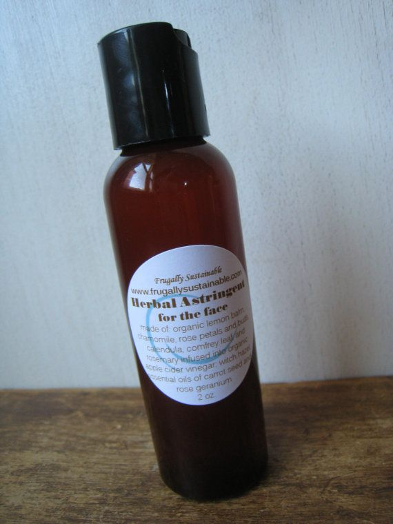 Herbal Astringent for the Face...your recipe for blemish-free skin!