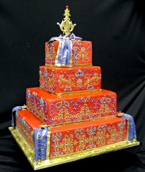 Traditional Indian Wedding Cakes