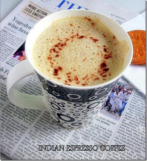 Indian Espresso Coffee | Foods | Pinterest