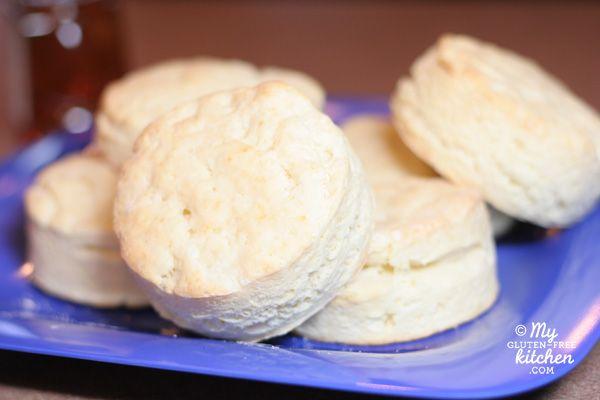 Buttermilk Biscuits {Gluten-free} / My Gluten-free Kitchen