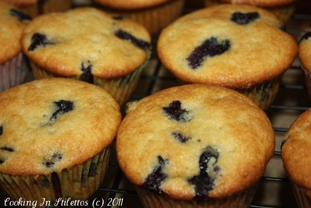 Blueberry Coffee Cake Muffins | Recipe