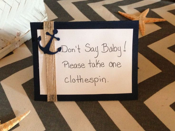 baby shower clothespin game baby d nautical themed baby sh