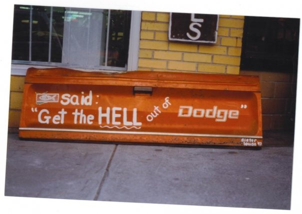said get the hell out of dodge engines memorabilia oddities. Cars Review. Best American Auto & Cars Review
