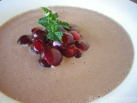 cold cherry soup | recipes - favorites | Pinterest