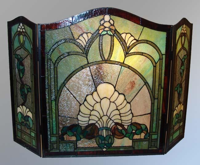 Tiffany Style Fireplace Screen For The Home Pinterest
