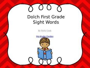 Dolch First Grade Sight Word PowerPoint: http://pinterest.com/pin/360569513890437738/