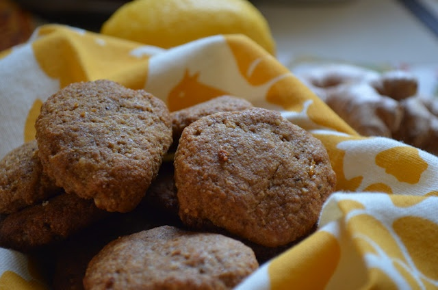 ginger cookies with mint lemon ginger cookies with mint lemon gluten ...