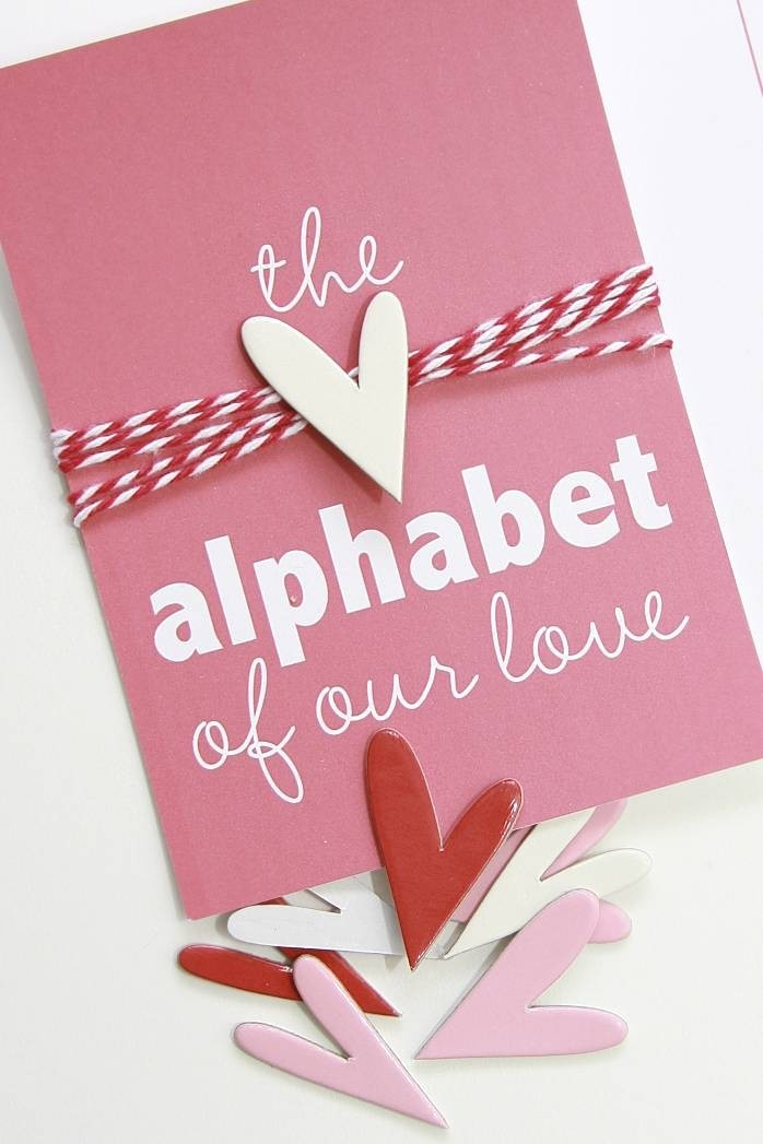 Alphabet of Our Love . Wedding Engagement Marriage Anniversary Deploy ...
