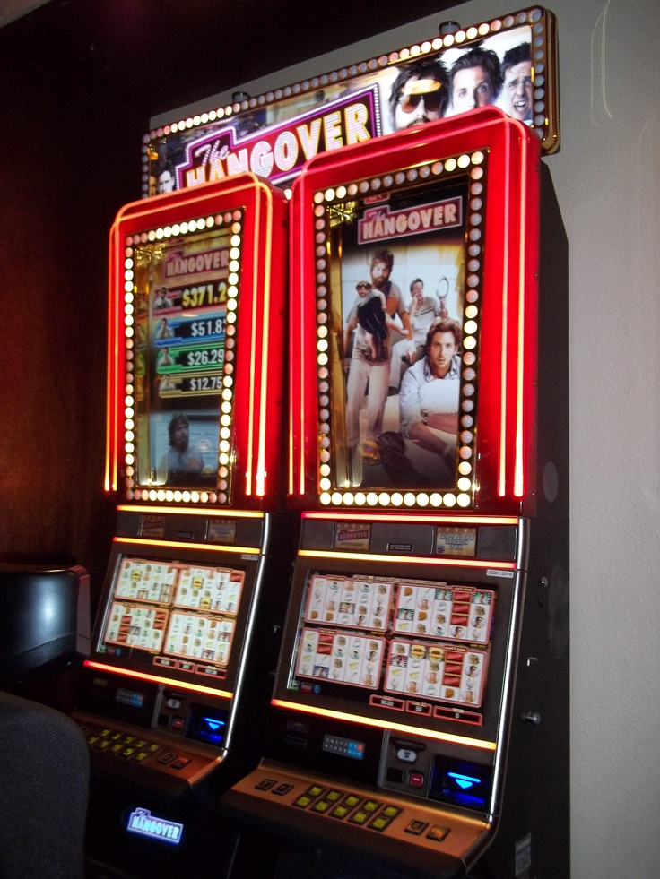 the hangover slot machine