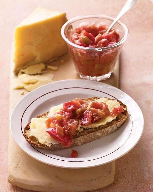 Rhubarb chutney | Yummy Food | Pinterest
