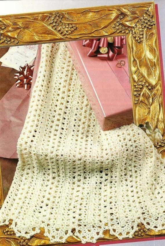 Crochet Afghan Patterns Mile A Minute : X333 Crochet PATTERN ONLY Lacy Mile a Minute Strip Afghan ...