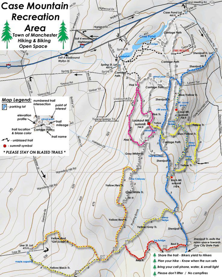Case Mtn  Manchester CT  Map  Remind Me  Pinterest