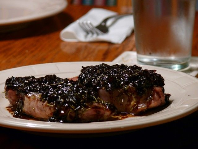 Rosemary Pork Chops With A Shallot-Balsamic Sauce from CDKitchen.com