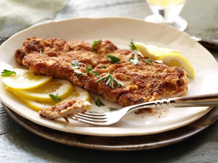 Wiener Schnitzel from CookingChannelTV.com