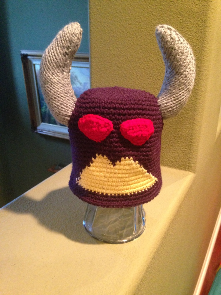 Crochet Like Knitting : Zurg look a like crochet and knitted hat Crochet and knit Pintere ...