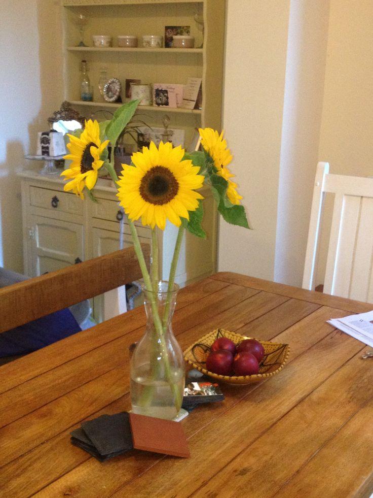 Sunflower Arrangement Lovely And Easy Pinterest