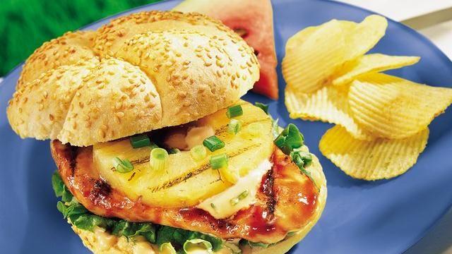 Grilled Teriyaki Chicken Sandwiches | Sandwiches And Soups | Pinterest