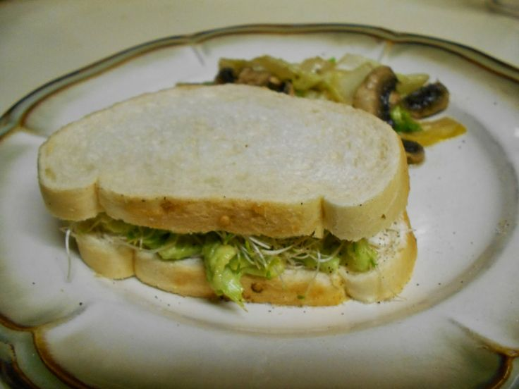 club sandwich avocado and sprout club sandwich recipe yummly avocado ...
