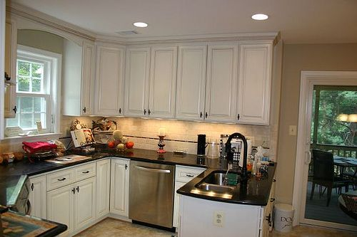 Simple white cabinets kitchen ideas pinterest for Simple white kitchen designs