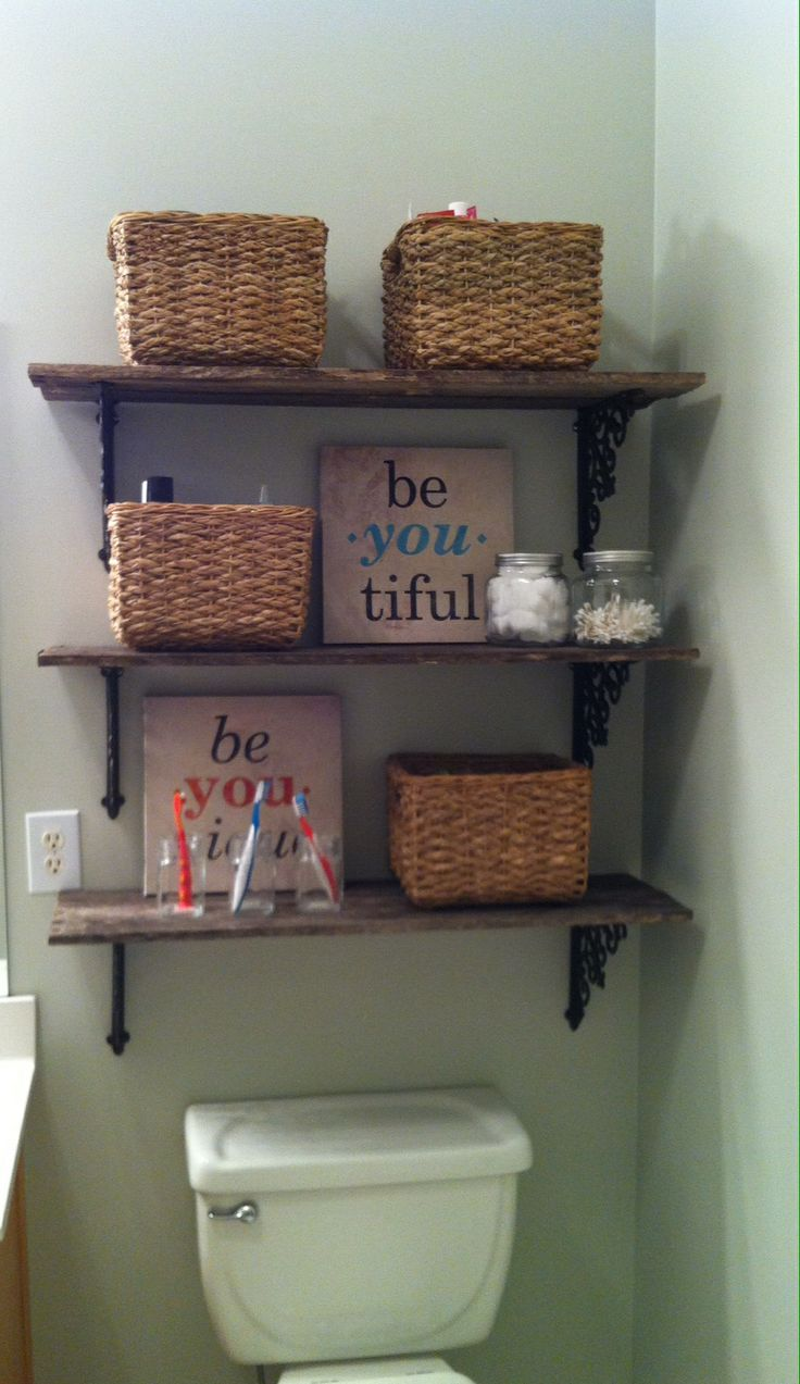 Cool DIY Bathroom Shelves To Increase Your Storage Space