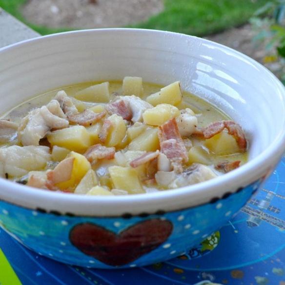 fish chowder 2   Recipes   Pinterest