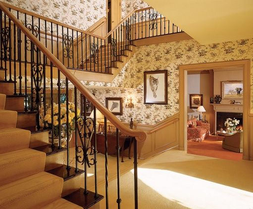Entrance Hall Of Jimmy Stewart S House For The Home