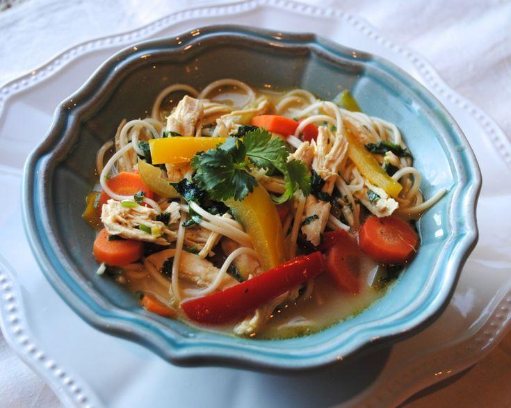 Thai Coconut Lime Soup | Soup | Pinterest