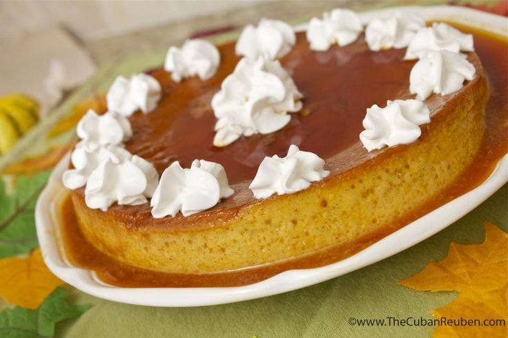 Pumpkin Flan | Desserts | Pinterest