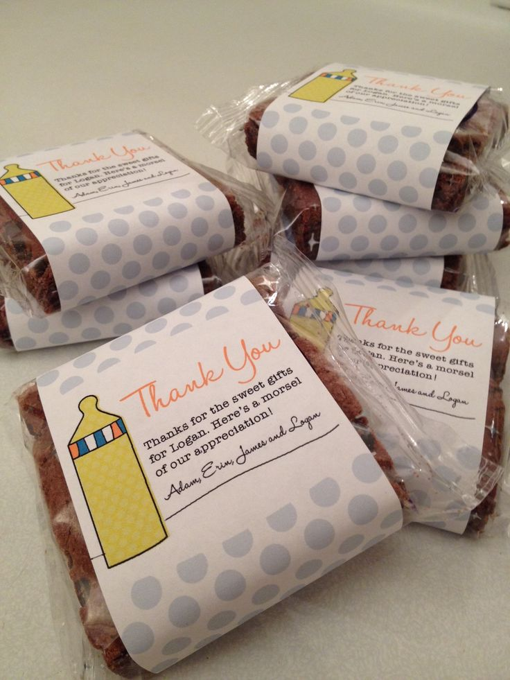 fairytale brownies baby shower gift great gifts pinterest