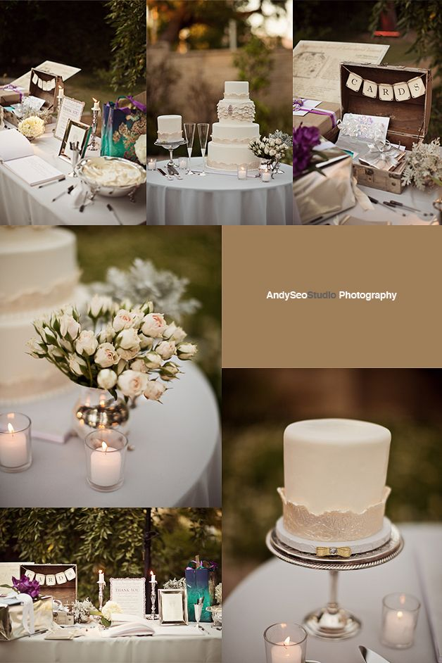 Card Box, Wedding Cake, Gift Table. Basically this whole wedding would ...