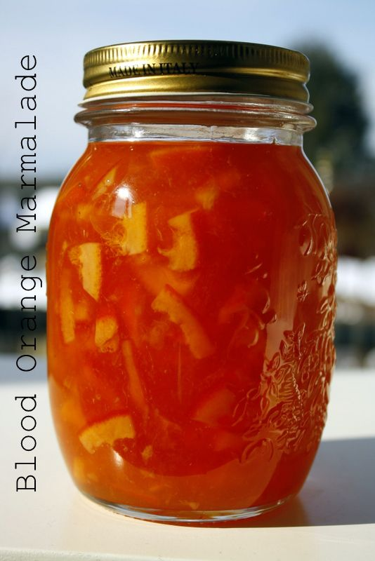 Blood Orange Marmalade | Culinary Concerns | Pinterest