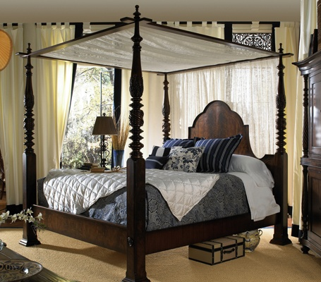 Dark and sexy canopy beds awesome bedrooms pinterest - Awesome canopy beds ...