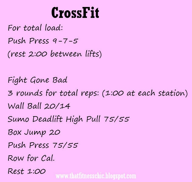 CrossFit, Fight Gone Bad. This workout is worse than it sounds!