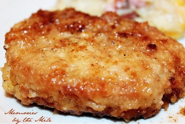 breaded pork chop | PORK ~ THE OTHER WHITE MEAT | Pinterest