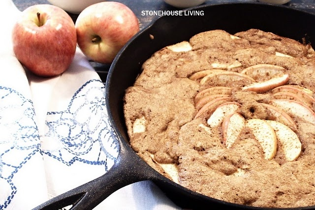 Iron skillet apple cake | Food: Recipes Sweet, Sassy and Sumptious ...