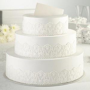 Wedding Reception Cake Gift Card Holder Box