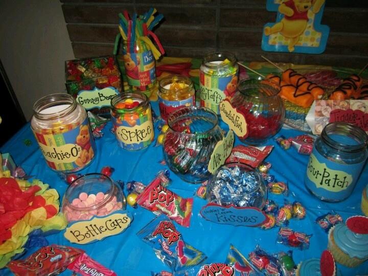 Winnie the Pooh 1st Birthday Party  Christians Birthday  Pinterest