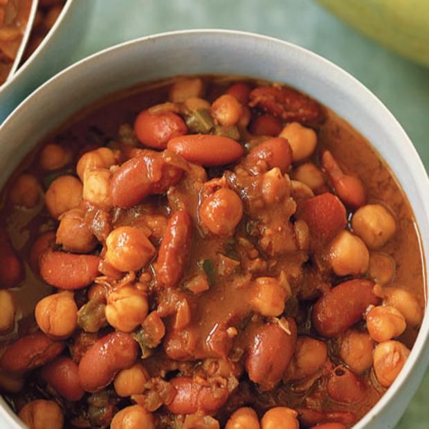 Vegetarian Chili With Chocolate | Healthy Eating | Pinterest