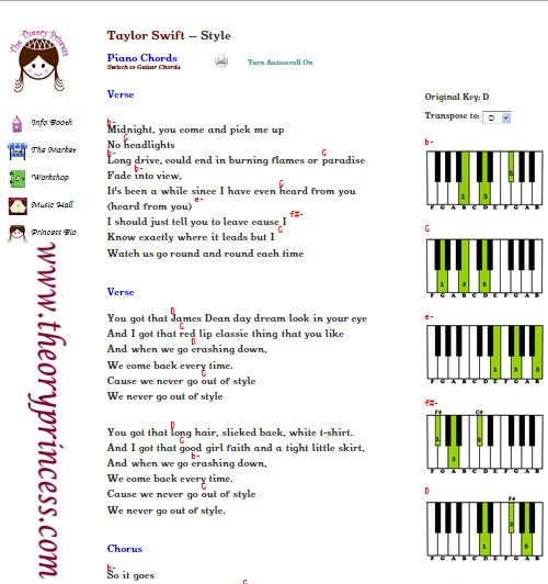 Ours Piano Chords Image Collections Chord Guitar Finger Position