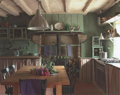 Beautiful Rustic Kitchen Kitchen Whimsy Pinterest