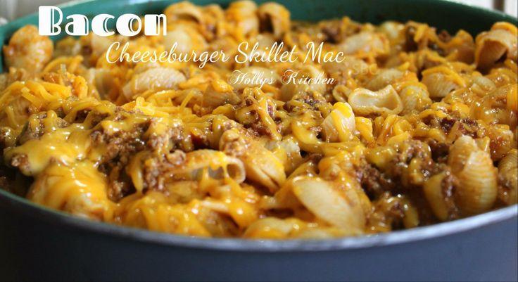 Bacon Cheeseburger Skillet Mac | Pasta ♥ yummo | Pinterest