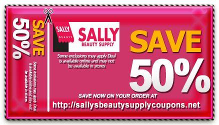 Sally coupon code