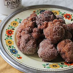 Golden Deep-Fried Apple Fritters | DONUTTY's | Pinterest