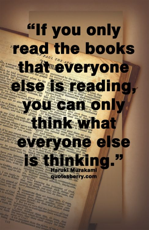 Quotes About Books And Reading Tumblr Norwegian Wood ...