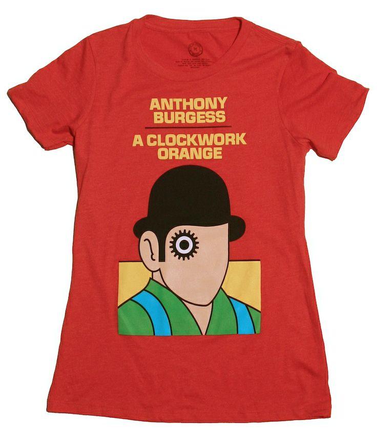 Penguin Book Cover T Shirts ~ A clockwork orange